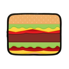 Cake Cute Burger Copy Netbook Case (Small)