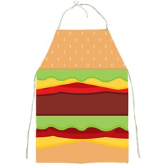 Cake Cute Burger Copy Full Print Aprons