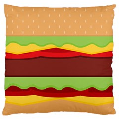 Cake Cute Burger Copy Large Cushion Case (Two Sides)