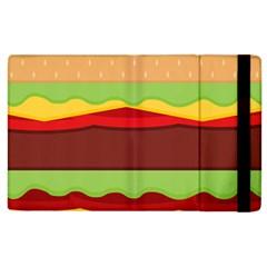 Cake Cute Burger Copy Apple iPad 2 Flip Case