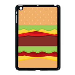 Cake Cute Burger Copy Apple iPad Mini Case (Black)