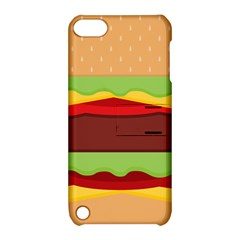 Cake Cute Burger Copy Apple iPod Touch 5 Hardshell Case with Stand