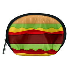 Cake Cute Burger Copy Accessory Pouches (Medium)