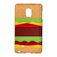 Cake Cute Burger Copy Galaxy Note Edge