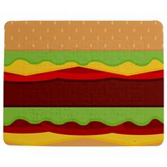 Cake Cute Burger Copy Jigsaw Puzzle Photo Stand (Rectangular)