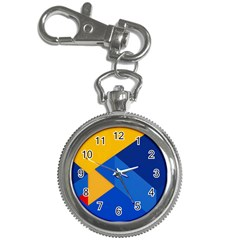 Box Yellow Blue Red Key Chain Watches