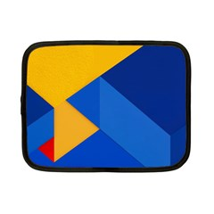 Box Yellow Blue Red Netbook Case (Small)