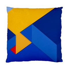 Box Yellow Blue Red Standard Cushion Case (One Side)