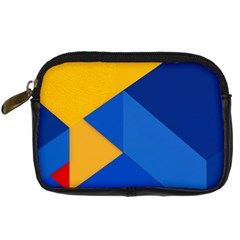 Box Yellow Blue Red Digital Camera Cases