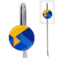 Box Yellow Blue Red Book Mark
