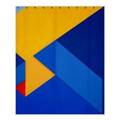 Box Yellow Blue Red Shower Curtain 60  X 72  (medium)