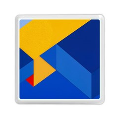 Box Yellow Blue Red Memory Card Reader (Square)