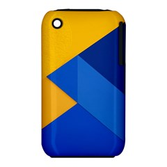 Box Yellow Blue Red iPhone 3S/3GS