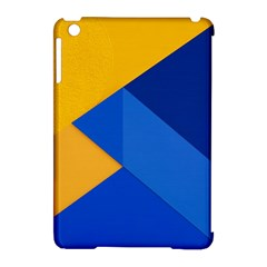 Box Yellow Blue Red Apple iPad Mini Hardshell Case (Compatible with Smart Cover)