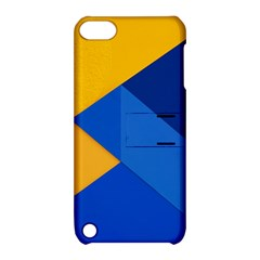 Box Yellow Blue Red Apple iPod Touch 5 Hardshell Case with Stand