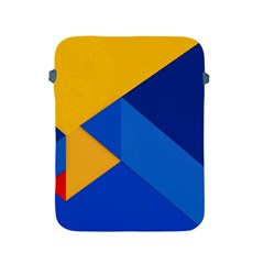 Box Yellow Blue Red Apple iPad 2/3/4 Protective Soft Cases