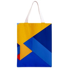 Box Yellow Blue Red Classic Light Tote Bag