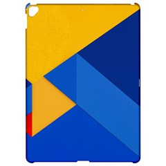 Box Yellow Blue Red Apple Ipad Pro 12 9   Hardshell Case