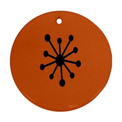 Centralized Garbage Flow Ornament (Round)
