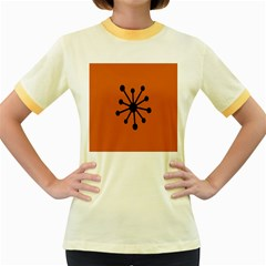 Centralized Garbage Flow Women s Fitted Ringer T-Shirts