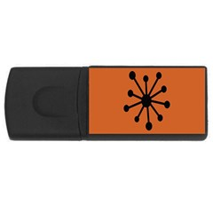 Centralized Garbage Flow USB Flash Drive Rectangular (2 GB)