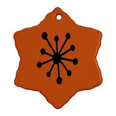 Centralized Garbage Flow Snowflake Ornament (2-Side)