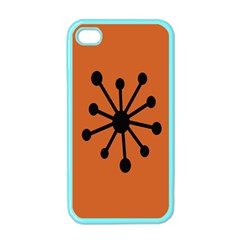 Centralized Garbage Flow Apple iPhone 4 Case (Color)