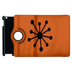 Centralized Garbage Flow Apple iPad 2 Flip 360 Case