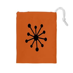 Centralized Garbage Flow Drawstring Pouches (Large)