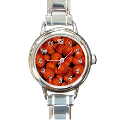 Basketball Sport Ball Champion All Star Round Italian Charm Watch