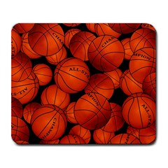 Basketball Sport Ball Champion All Star Large Mousepads