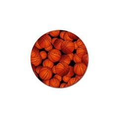 Basketball Sport Ball Champion All Star Golf Ball Marker (4 pack)
