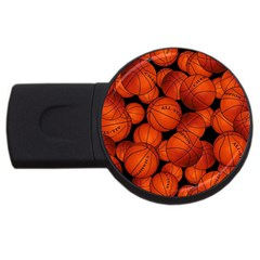 Basketball Sport Ball Champion All Star USB Flash Drive Round (4 GB)