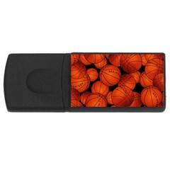 Basketball Sport Ball Champion All Star USB Flash Drive Rectangular (4 GB)