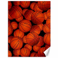 Basketball Sport Ball Champion All Star Canvas 36  x 48