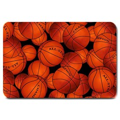 Basketball Sport Ball Champion All Star Large Doormat