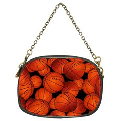 Basketball Sport Ball Champion All Star Chain Purses (Two Sides)