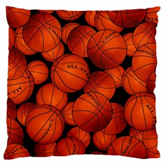 Basketball Sport Ball Champion All Star Large Cushion Case (One Side)