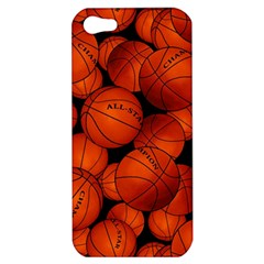 Basketball Sport Ball Champion All Star Apple iPhone 5 Hardshell Case