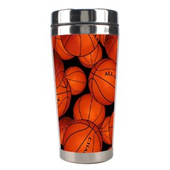 Basketball Sport Ball Champion All Star Stainless Steel Travel Tumblers