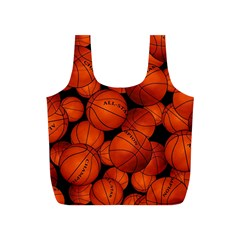 Basketball Sport Ball Champion All Star Full Print Recycle Bags (S)