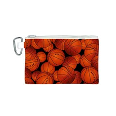 Basketball Sport Ball Champion All Star Canvas Cosmetic Bag (S)