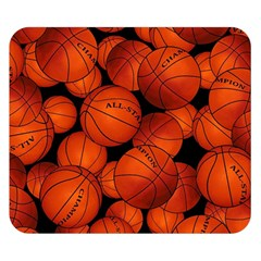 Basketball Sport Ball Champion All Star Double Sided Flano Blanket (Small)