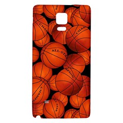 Basketball Sport Ball Champion All Star Galaxy Note 4 Back Case