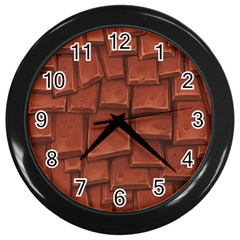 Chocolate Wall Clocks (Black)