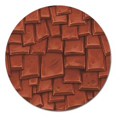 Chocolate Magnet 5  (Round)