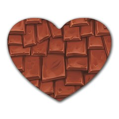 Chocolate Heart Mousepads