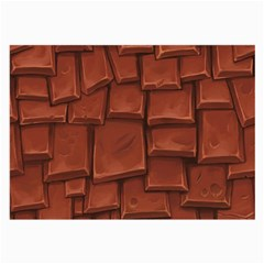 Chocolate Large Glasses Cloth (2-Side)