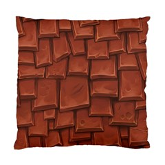 Chocolate Standard Cushion Case (One Side)