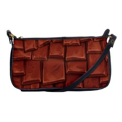 Chocolate Shoulder Clutch Bags